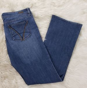 Kut from Kloth Farrah Baby Bootcut Jean's size 14